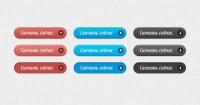 Стильные кнопки загрузки (psd)
