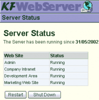 KF Web Server