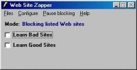 Web Site Zapper