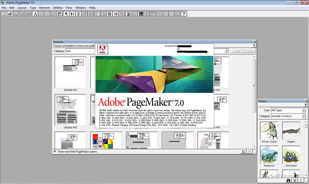 Adobe pagemaker rus скачать