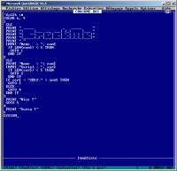 QBasic (QuickBASIC)