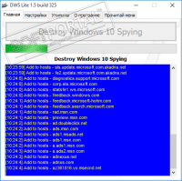 Destroy Windows 10 Spying 2.2.2.2